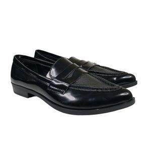 Mossimo Pointy Toe Vegan Penny Loafers  NWOT